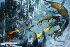 Gallery print  The cave - Dragon Chronicles