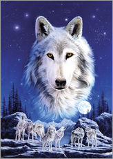 Gallery print  Night of the wolves - Robin Koni