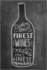 Gallery print  Finest Wines - Lily & Val