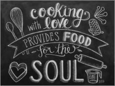 Wall sticker  Cooking With Love - Lily & Val