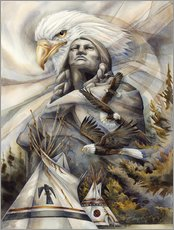 Wall sticker  Eternal Spirits - Jody Bergsma