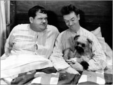 Gallery print  Bedtime with Laurel & Hardy