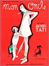 Wall sticker  Mon Oncle (french)