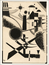 Wall sticker  Lithograph No III - Wassily Kandinsky