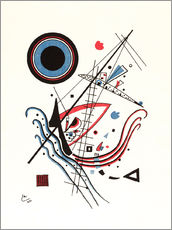 Wall sticker  Blue - Wassily Kandinsky