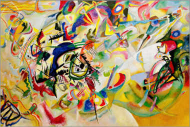 Premium poster  Composition VII - Wassily Kandinsky
