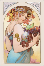 Gallery print  Fruit, nature - Alfons Mucha