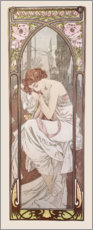Wall sticker  Night's rest, times of the day series - Alfons Mucha
