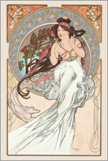 Wall sticker  The Arts - Music - Alfons Mucha