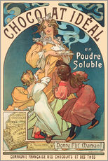 Gallery print  Chocolat Ideal - Alfons Mucha