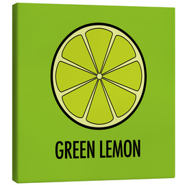 Canvas print  Green Lemon Juice - JASMIN!
