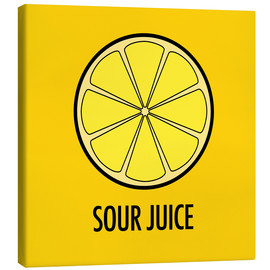 Canvas print  Sour Juice - JASMIN!