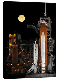 Canvas print  Space shuttle Discovery