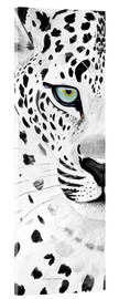 Acrylic print  The leopard - panorama - Annett Tropschug