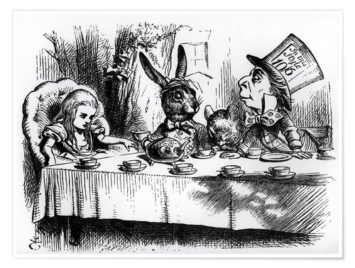 Premium poster The Mad Hatter's Tea Party