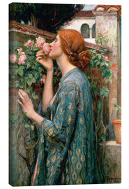 Canvas print  The Soul of the Rose - John William Waterhouse
