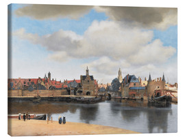 Canvas print  Delft - Jan Vermeer