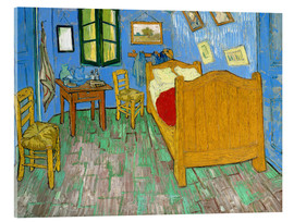 Acrylic print  Van Gogh's bedroom at Arles - Vincent van Gogh