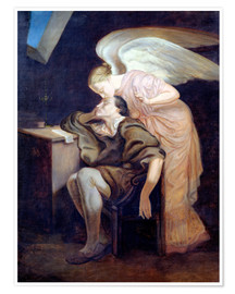 Premium poster The Dream of the Poet or