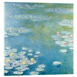 Acrylic print  Nympheas at Giverny - Claude Monet