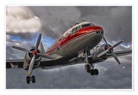 Premium poster old lady of aviation