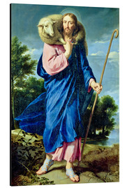 Aluminium print  The Good Shepherd - Philippe de Champaigne
