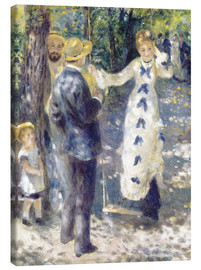 Canvas print  The Swing - Pierre-Auguste Renoir