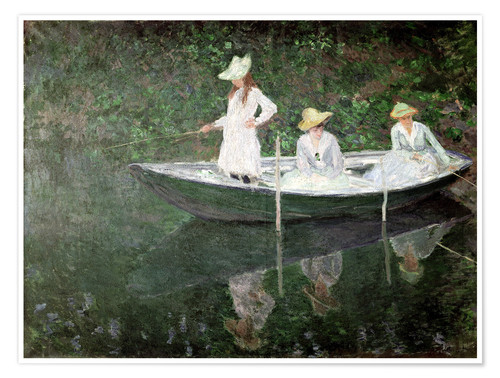 Premium poster The Boat at Giverny