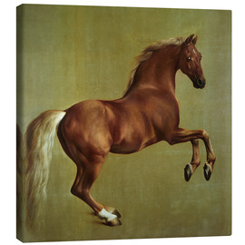 Canvas print  Whistlejacket - George Stubbs