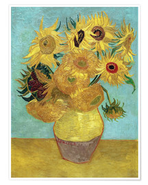 Premium poster Sunflowers