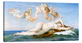 Canvas print  Birth of Venus - Alexandre Cabanel