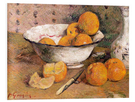 Foam board print  Still life with Oranges - Paul Gauguin