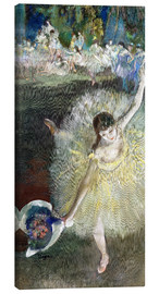 Canvas print  End of an Arabesque - Edgar Degas