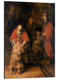 Aluminium print  Return of the Prodigal Son - Rembrandt van Rijn