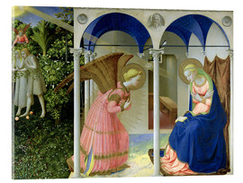 Acrylic print  The Annunciation - Fra Angelico