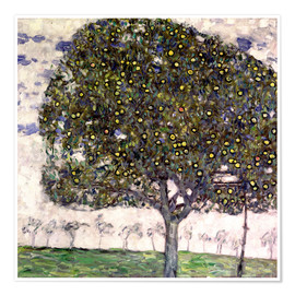 Premium poster  The Apple Tree II - Gustav Klimt