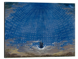 Aluminium print  The Palace of the Queen of the Night - Karl Friedrich Schinkel