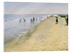 Acrylic print  Summer day at the south beach of Skagen - Peder Severin Krøyer