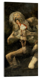 Acrylic print  Saturn devouring one of his children - Francisco José de Goya