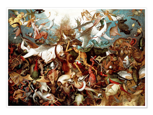 Premium poster The fall of the rebel angels