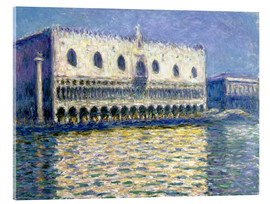 Acrylic print  The Ducal Palace - Claude Monet