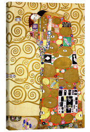 Canvas print  The tree of life (fulfilment) - Gustav Klimt