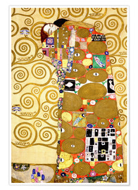 Premium poster  The tree of life (fulfilment) - Gustav Klimt