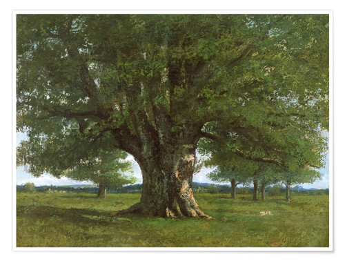 Premium poster The Oak of Flagey