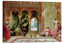 Canvas print  A Royal Palace in Morocco - Constant