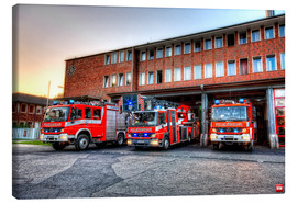 Canvas print  Fire station in Germany - Markus Will