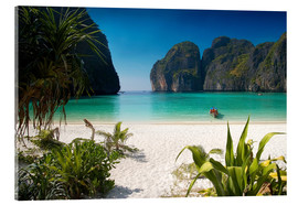 Acrylic print  White beach in Thailand - Mayday74