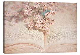 Canvas print  The old book - INA FineArt