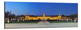 Aluminium print  Panoramic view of palace Karlsruhe Germany - FineArt Panorama