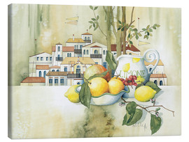 Canvas print  Scent of lime - Franz Heigl